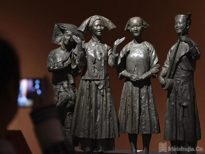 中国美术馆首次举办民族题材的全国雕塑艺术展