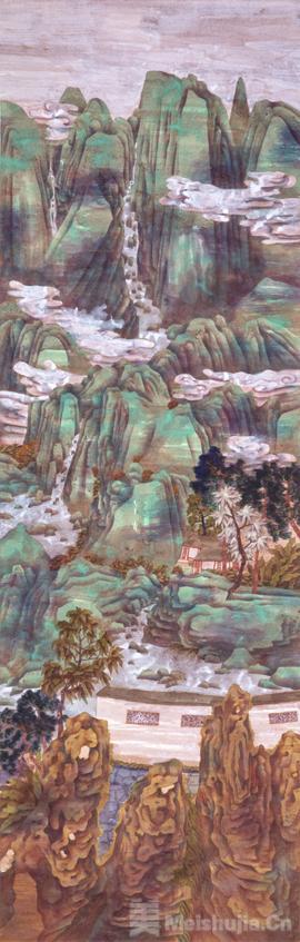 景·色——中国当代青绿山水画学术邀请展9月3日将隆重开幕