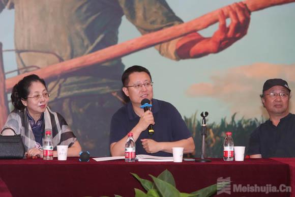凡心已炽——郑艺作品展学术研讨会在清华大学美术学院举行