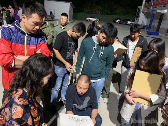 西安工业大学环境艺术设计/动画设计专业入驻华山艺术写生基地