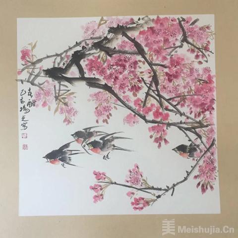 著名画家杨光作品欣赏