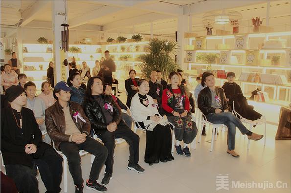 """""""无为之境严家祥新水墨禅画展在北京麒麟空间隆重开幕"""