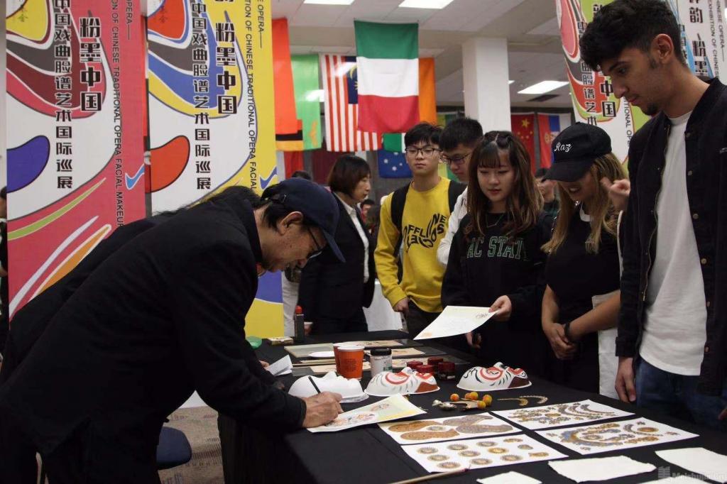中国戏曲脸谱艺术国际巡展在美开幕