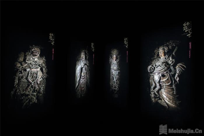 独冠天下山西高平铁佛寺造像摄影展开展