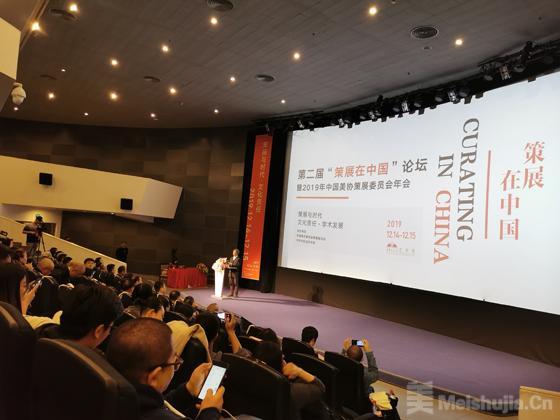 """第二届""""策展在中国""""论坛暨2019年中国美协策展委员会年会在中华世纪坛艺术馆举办"""