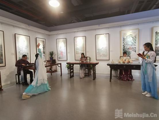翰墨春秋——海峡两岸公益传媒名家迎春展在京隆重开幕