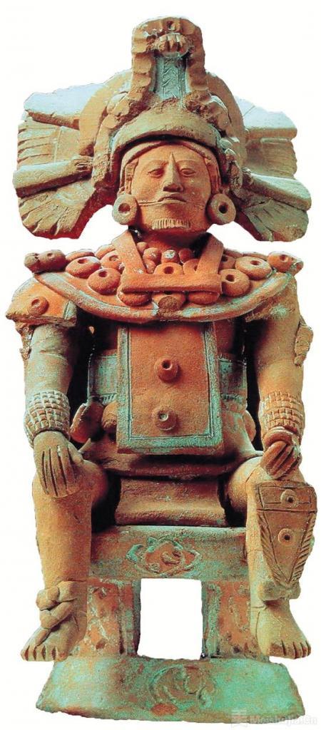 自新大陆 玛雅的陶器
