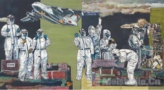 这个春天你最美——北京东城区美术家用画笔致敬战疫英雄
