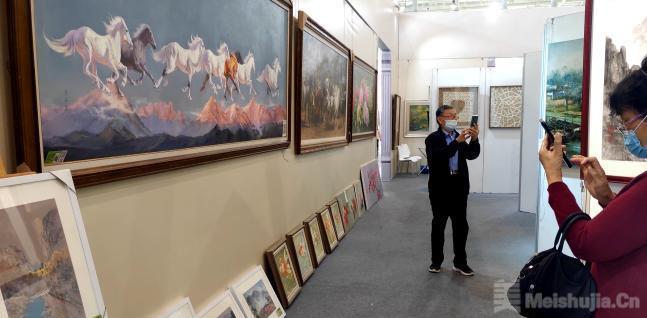 海峡两岸文博会首次配套举办厦门框画展