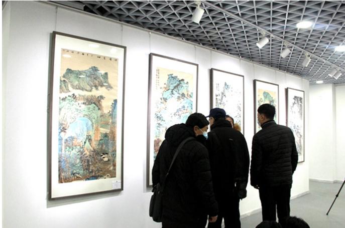 海岳问道——当代山水画30家作品学术邀请观摩展在京开展